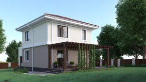 Проект дома КД - 127_1