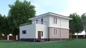 Проект дома КД - 127_3