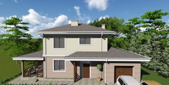 Проект дома КД - 136-1_2