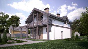Проект дома КД - 172_3