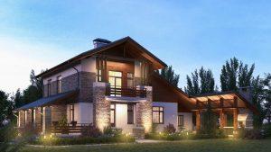 Проект дома КД - 228_1