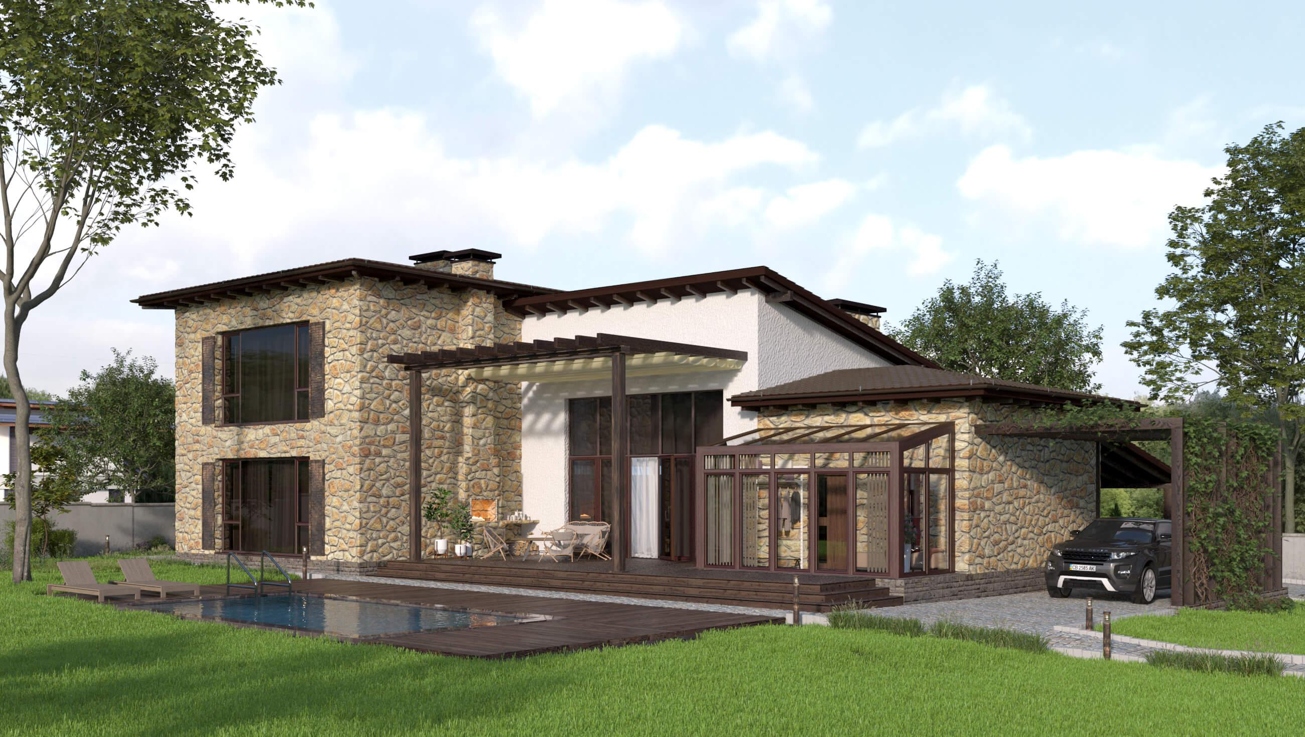 Проект дома КД - 250_1