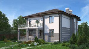 Проект дома КД - 250_1_4