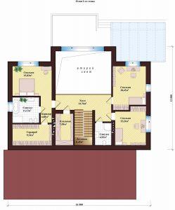 Проект дома КД - 269_План 2 этажа