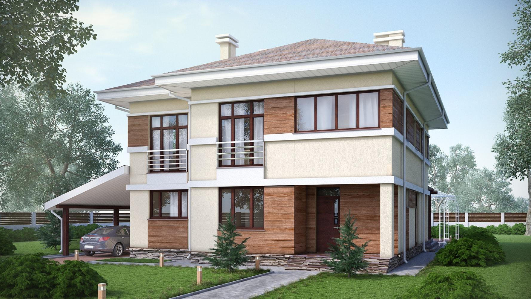 Проект дома КД - 284_1