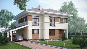 Проект дома КД - 284_4