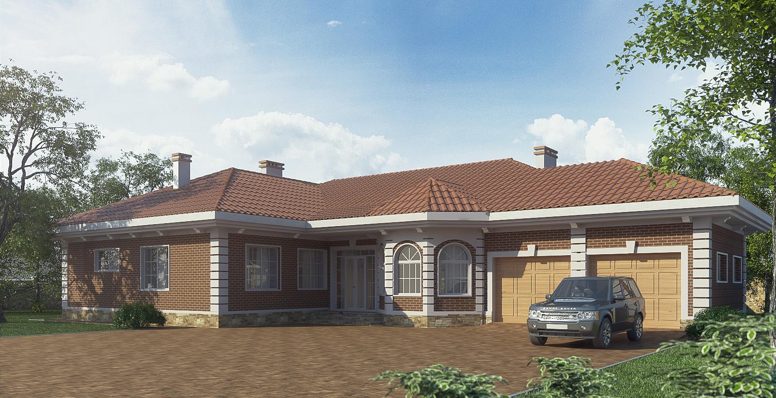 Проект дома КД - 445_1