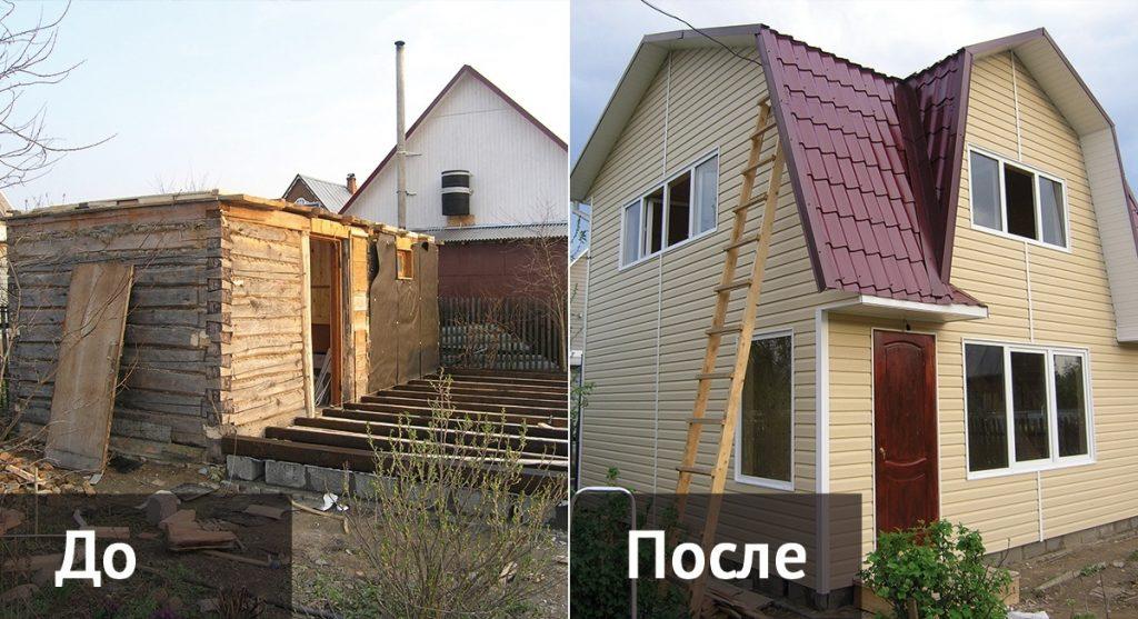 Реконструкция дома фото 6