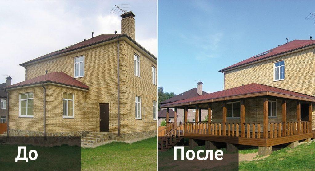 Реконструкция дома фото 7