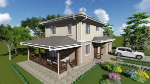 Проект дома КД - 136-1_1