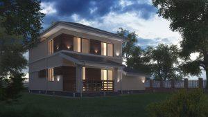 Проект дома КД - 136_2