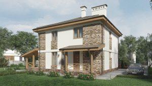 Проект дома КД - 158_2