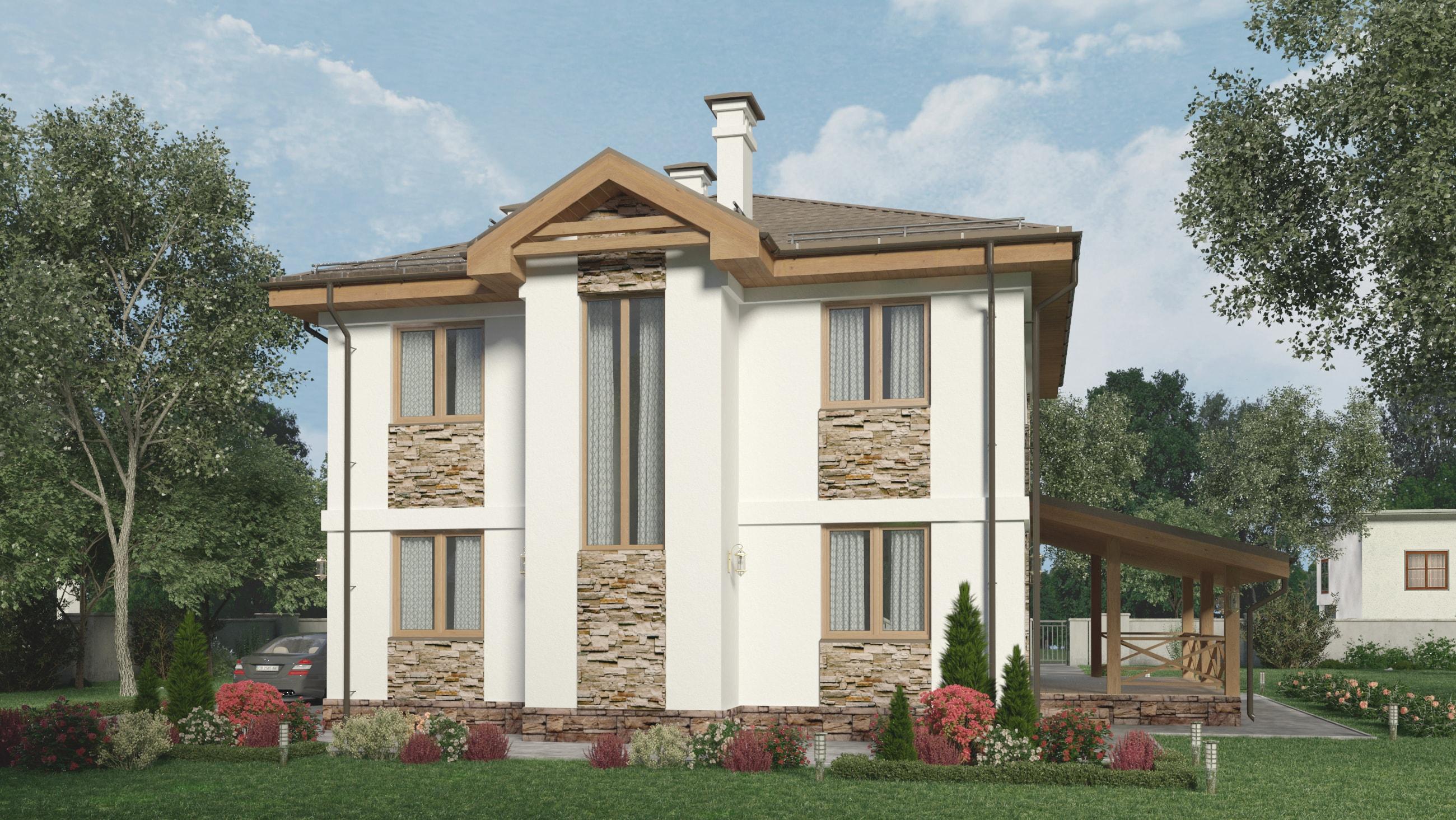 Проект дома КД - 158_3