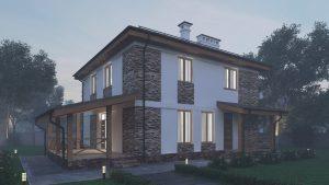 Проект дома КД - 158_4
