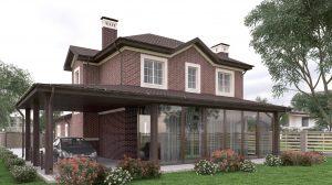 Проект дома КД - 206_1