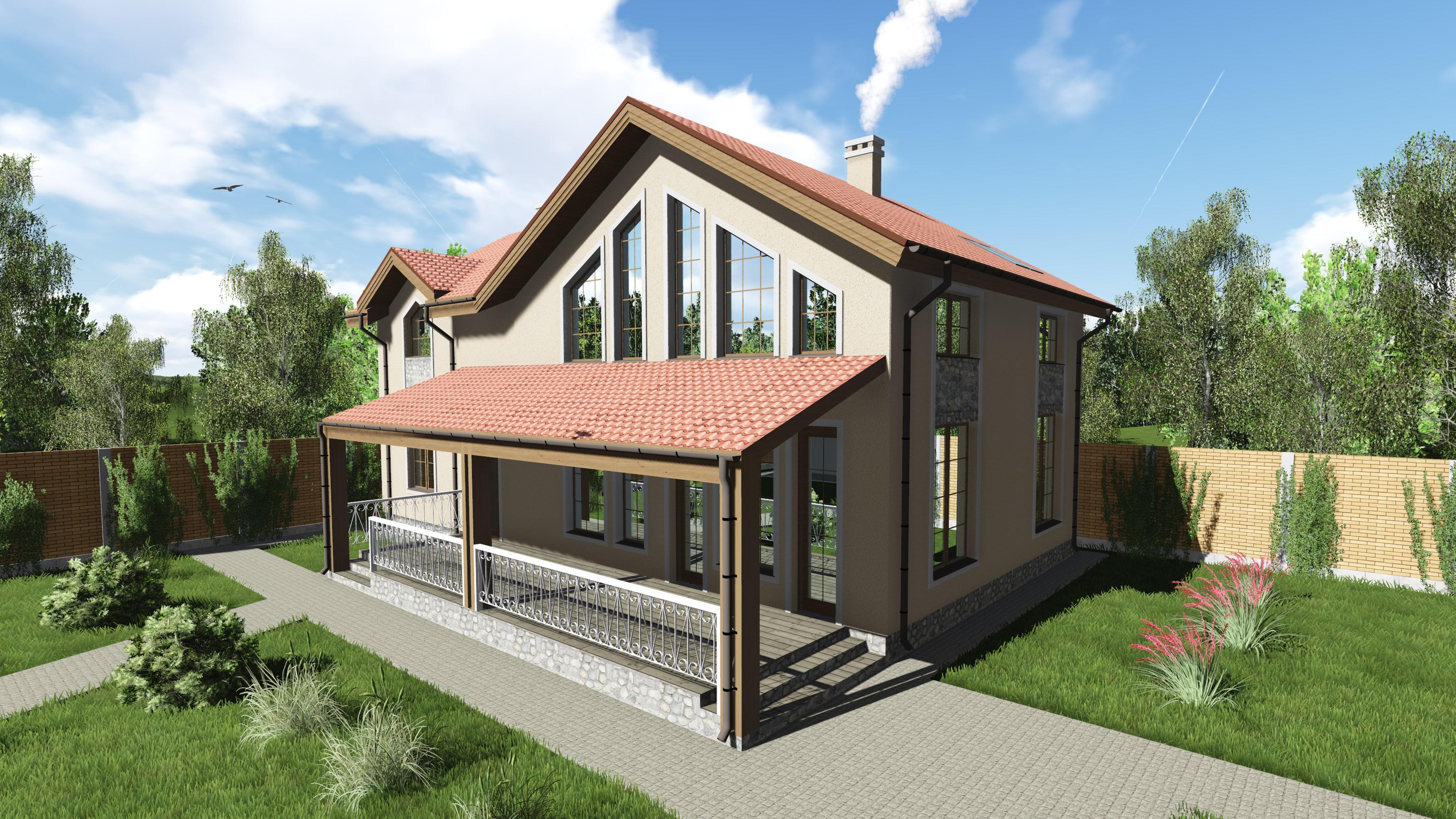 Проект дома КД - 192-1_4