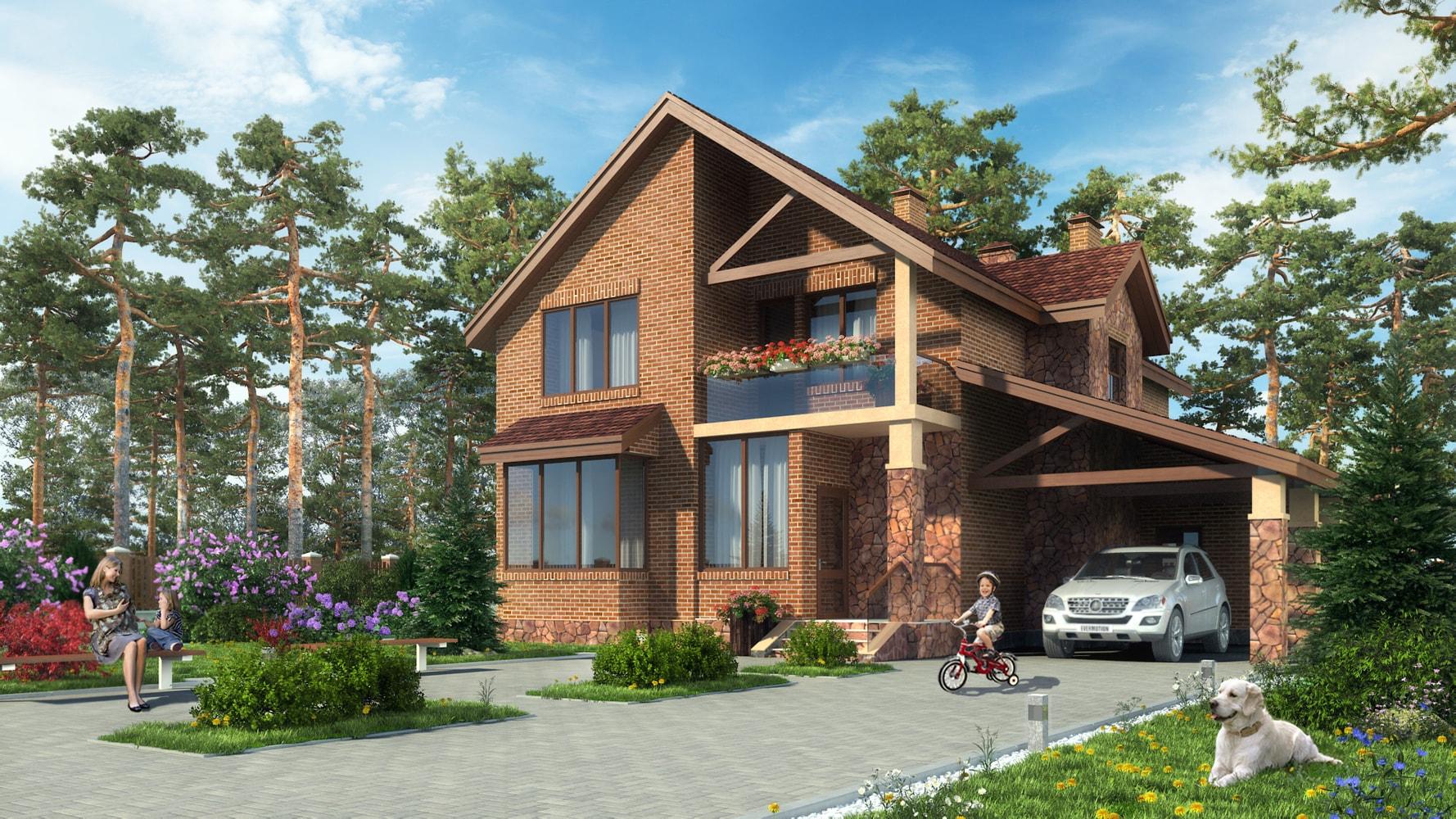 Проект дома КД - 217_2