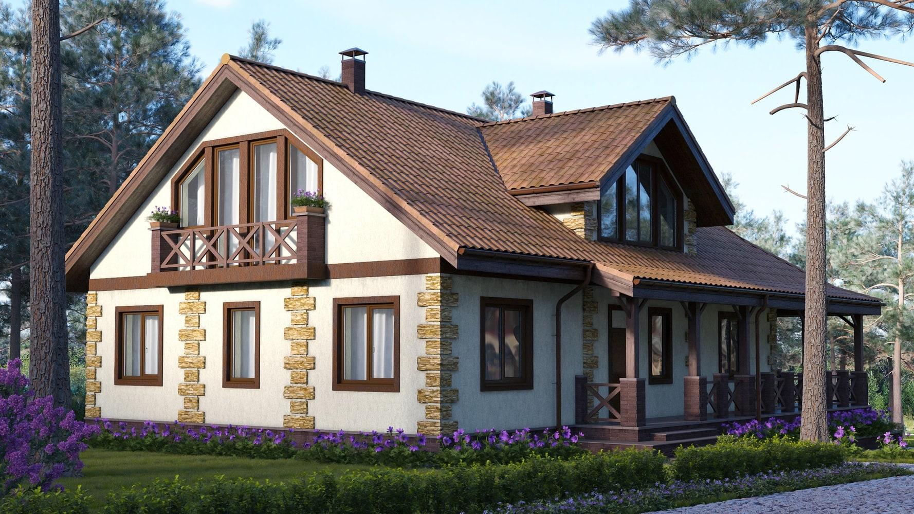 Проект дома КД - 360_1