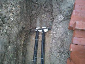 Схема монтажа ввода электричества в дом 3